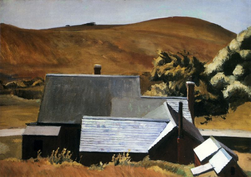 Burly Cobb's House, South Truro - Edward Hopper