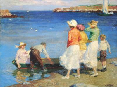 By the Seashore - Edward Henry Potthast