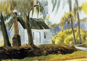 Cabin Charleston, South Carolina - Edward Hopper