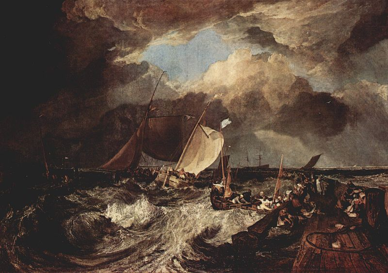 Calais Pier - Joseph Mallord William Turner