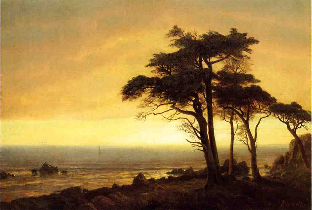 California Coast - Albert Bierstadt