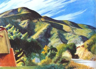 California Hills - Edward Hopper
