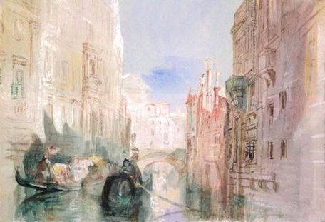 Canal near the Arsenale, Venice - Joseph Mallord William Turner