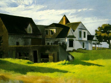 Cape Cod Afternoon - Edward Hopper