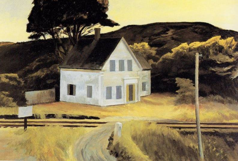 Cape Cod in October - Edward Hopper