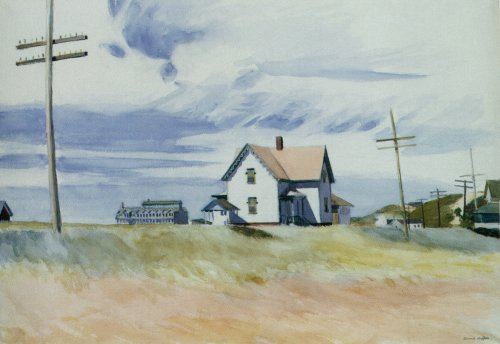 Capron House - Edward Hopper
