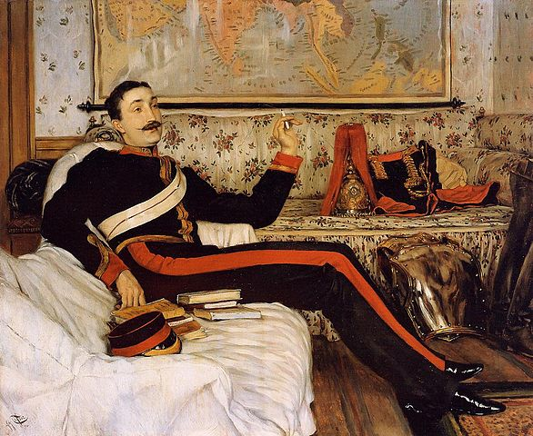 Captain Frederick Gustavus Burnaby - James Tissot