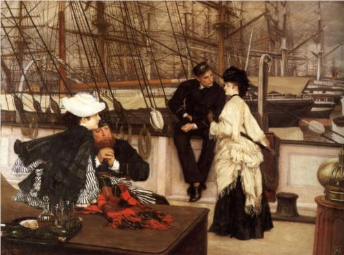 Captain and the Mate - James Tissot