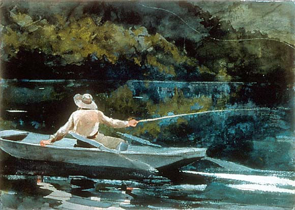 Casting the Fly - Winslow Homer