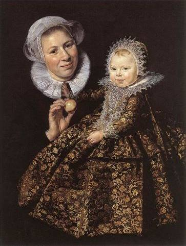 Catharina Hooft with her Nurse - Frans Hals