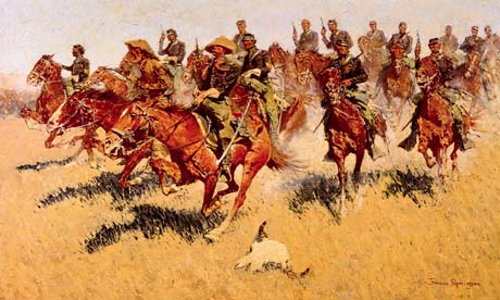 Cavalry Charge - Frederic Remington