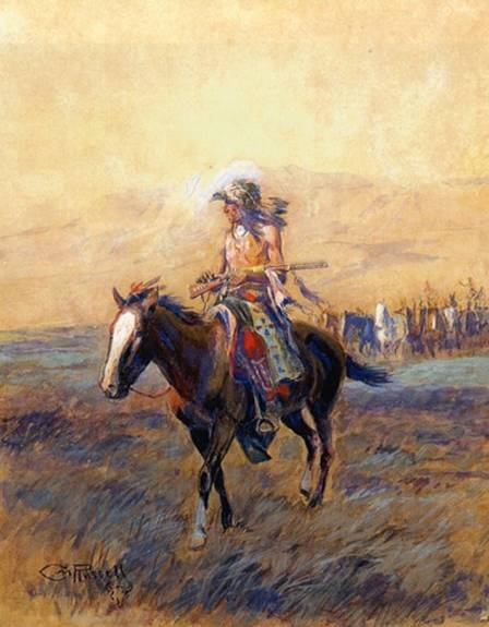 Cavalry Mounts for the Brave - Charles Marion Russell
