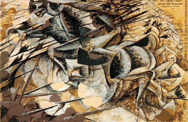 Charge of the Lancers - Umberto Boccioni