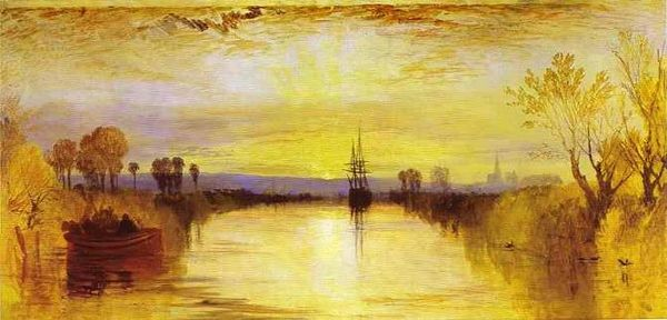 Chichester Canal - Joseph Mallord William Turner