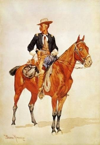 Chief of the Crow Scouts - Frederic Remington