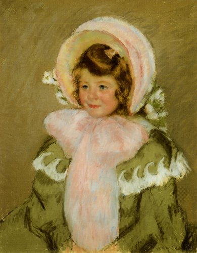Child in Green Coat - Mary Cassatt