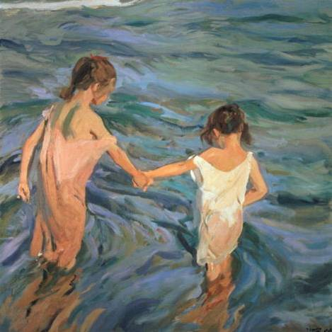 Children in the Sea - Joaquin Sorolla