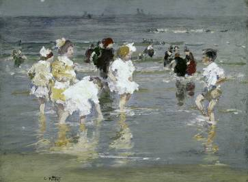 Children on the Beach - Edward Henry Potthast