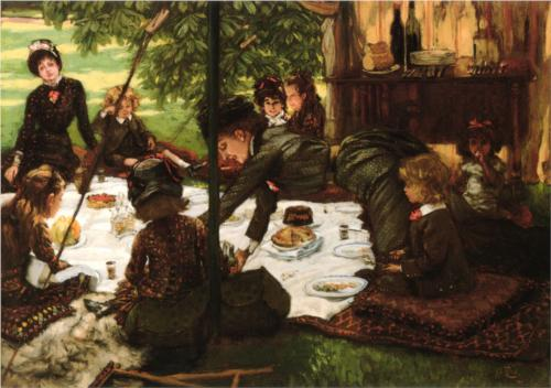 James Tissot - Children's Party