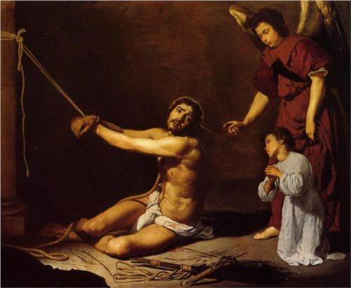 Christ After the Flagellation - Diego Velazquez
