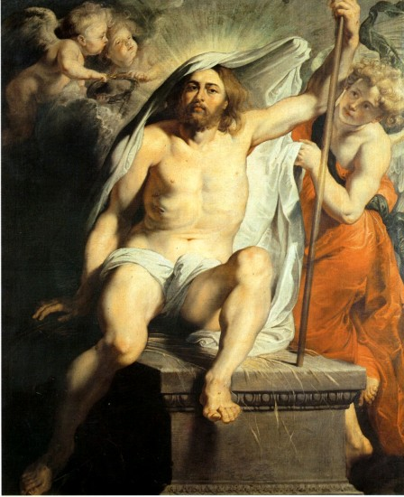 Christ Risen - Peter Paul Rubens