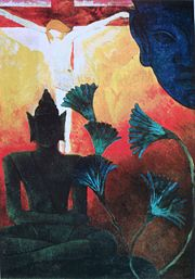 Christ and Buddha - Paul Ranson
