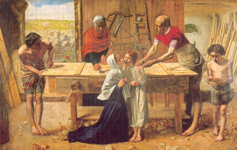 Christ in the House of His Parents - John Everett Millais