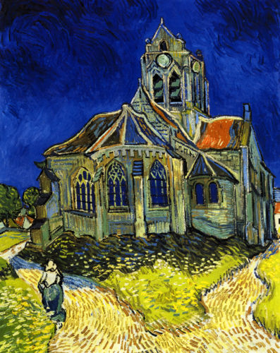 Church at Auvers - Vincent van Gogh