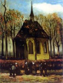 Church in Nuenen - Vincent van Gogh