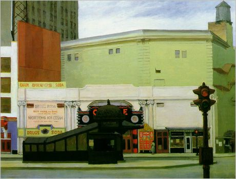 Circle Theater - Edward Hopper
