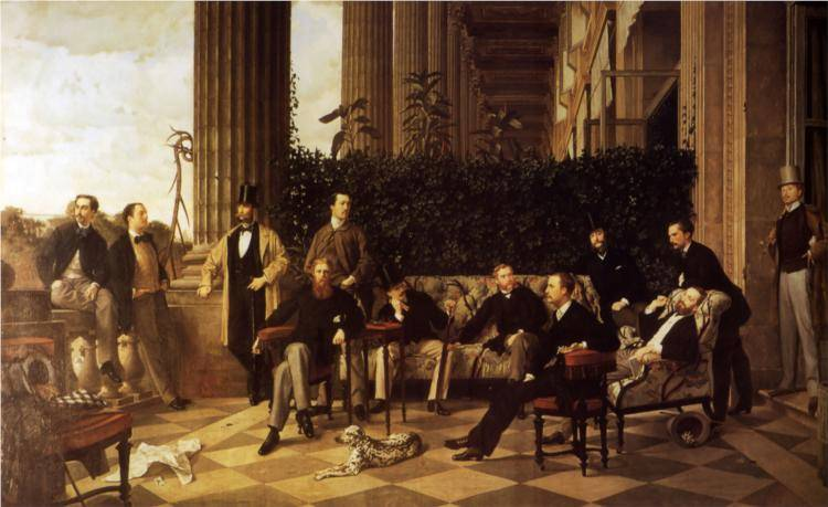 Circle of the Rue Royale - James Tissot