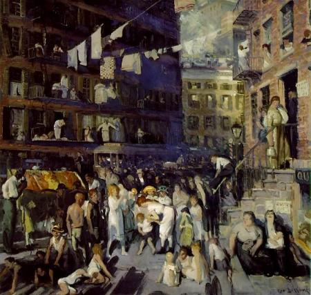 Cliff Dwellers - George Bellows