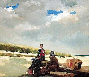 Cloud Shadow - Winslow Homer