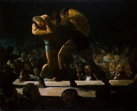 Club Night - George Bellows