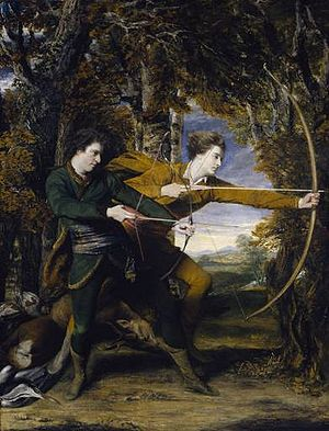 Colonel Acland and Lord Sydney, The Archers - Joshua Reynolds