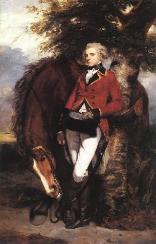 Colonel George Coussmaker - Joshua Reynolds