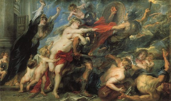 Consequences of War - Peter Paul Rubens