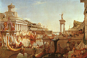 Consummation of Empire Course of Empire - Thomas Cole