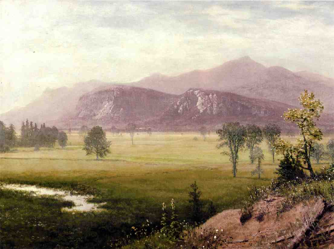 Conway Meadows, New Hampshire - Albert Bierstadt