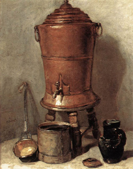 Copper Drinking Fountain - Jean-Baptiste-Simeon Chardin