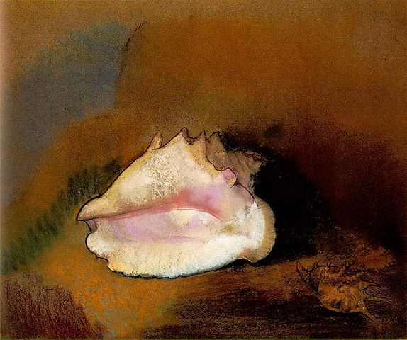Coquille - Odilon Redon