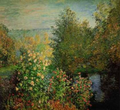The Corner of the Garden at Montegeron - Claude Monet