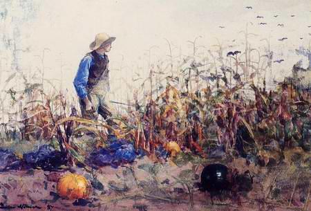 Cornfield - Winslow Homer