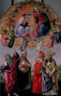 Coronation of the Virgin - Sandro Botticelli