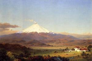 Cotopaxi 1855 - Frederic Edwin Church