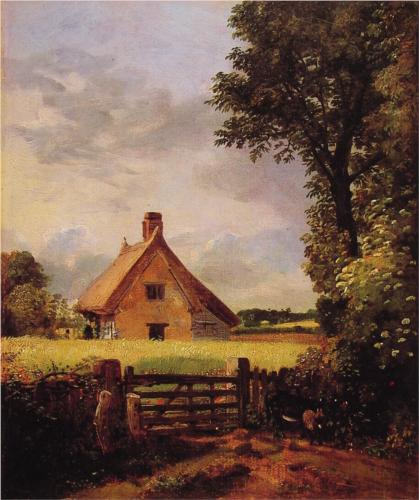Cottage in a Cornfield - John Constable
