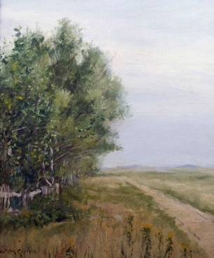 Country Lane - William Merritt Chase
