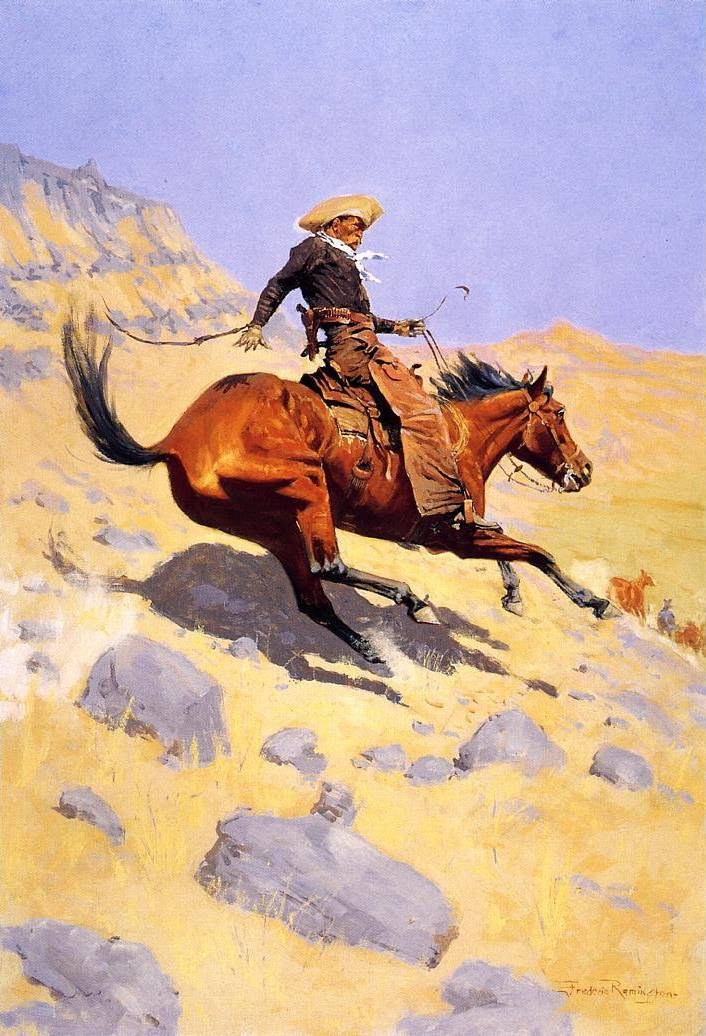 Cowboy - Frederic Remington