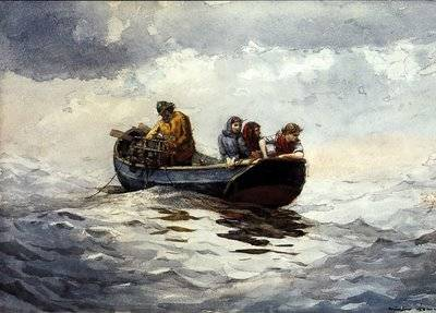Crab Fishing - Winslow Homer