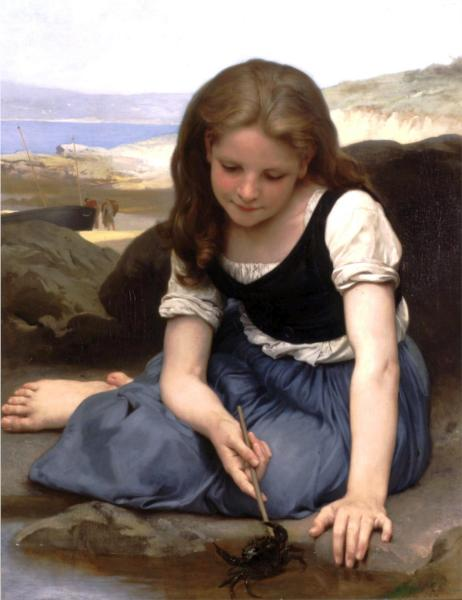 The Crab - William Adolphe Bouguereau